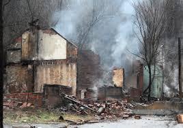 clairton fire decimates u0027ghost town u0027 pittsburgh post gazette