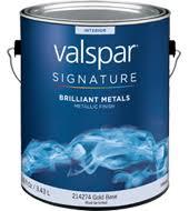 valspar signature brillant metals paint available colors