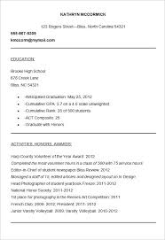 college resumes template college application resume template menu and resume