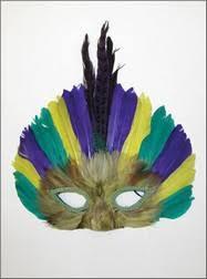 mardi gras feather masks feather masks traditional mardi gras feather masks from by