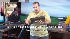 stinger 50 farad hybrid capacitor from thesplhell give away youtube