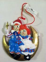 raggedy and andy ornaments ornaments raggedy and listing