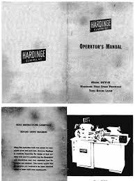 hardinge hlv h manual 1 copy belt mechanical