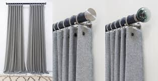 Wool Drapes A New Take On The Ready Made Curtain Walcot House