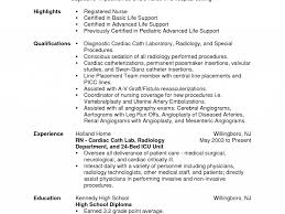 Registered Nurse Resume Sample by Rn Icu Resume Sample Best Intensive Care Unit Registered Nurse