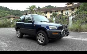 1996 toyota rav4 l 3 door hardtop start up full vehicle tour