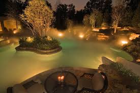 Landscaping Lighting Kits by Water Feature Lighting Expert Outdoor Lighting Advice
