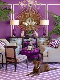 Purple Interior Design by What Is Your Design Style