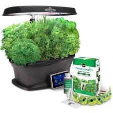 best miracle gro aerogarden bounty with gourmet herb seed pod kit