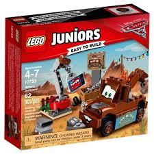 lego juniors disney pixar cars 3 mater u0027s junkyard 10733 target