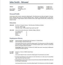 Attractive Resume Template Resume Templates Latex Cv Resume Ideas Resume Latex Template