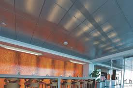 metal suspended ceiling panel acoustic perforated usg
