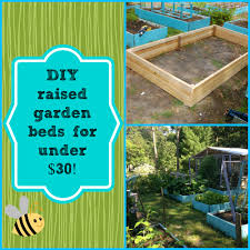Raised Gardens Ideas Diy Easy Raised Garden Bed For 30