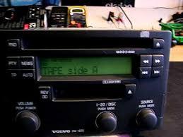 volvo s40 car radio youtube