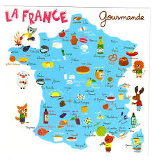 Maps France by I U0027m So Tickled By This Postcard Which I Found While Browsing At