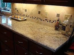 Backsplash With New Venetian Gold New Venetian Gold Granite - Tile backsplashes with granite countertops