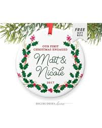 spectacular deal on engaged gift engaged ornament engagement