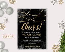 happy new year invitation happy new year party invitation merry christmas happy new year