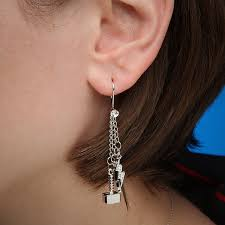dangly earrings thor dangle earrings thinkgeek