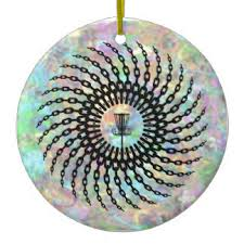 disc golf ornaments keepsake ornaments zazzle
