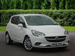 used vauxhall corsa se white cars for sale motors co uk
