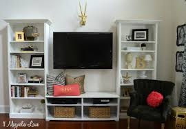 Billy Bookcase Hack Built In Our New Home Tutorial On Our Diy Built In Shelves 11 Magnolia Lane