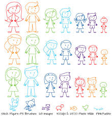 Chandelier Photoshop Brushes Stick Figures Photoshop Brushes Stick People Family And Pets