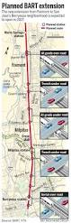 Sf Bart Map Bart Extension To San Jose Is Moving Right Along U2013 The Mercury News