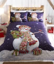 Toddler Duvet Cover Argos Boys Girls Kids Father Christmas Tree Santa Duvet Quilt Cover