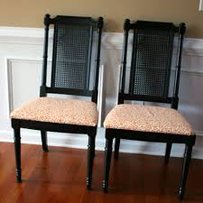 furniture fascinating rattan back dining chairs inspirations