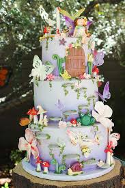 a sweet purpose enchanted garden themed birthday cake smooth