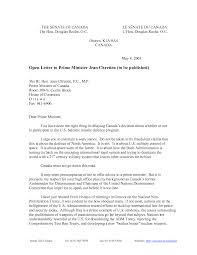 open letter examples format