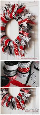 ribbon wreaths s day ribbon wreath wreaths decoration and tutorials