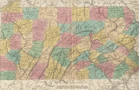 Pennsylvania Map With Cities And Towns by 1830 U0027s Pennsylvania Maps