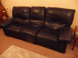 luxury leather sofa bed leather sofa ebay