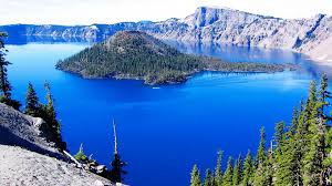Oregon lakes images Crater lake a lake in oregon travelling moods jpg