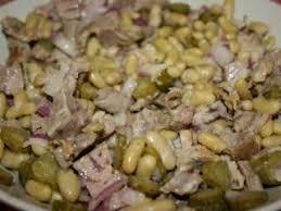 cuisiner l agneau cuisiner les restes 2 salade de gigot d agneau aux flageolets