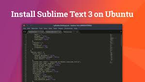 ubuntu network install tutorial how to install sublime text 3 on ubuntu omg ubuntu