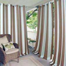 casual outdoor curtains u0026 drapes window treatments the