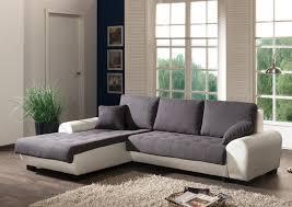 canapé d angle contemporain canapé d angle contemporain convertible en tissu coloris gris blanc