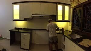Kitchen Set Minimalis Hitam Putih 0853 4787 8600 Tsel Kitchen Set Hpl Banjarmasin Kitchen Set Hpl