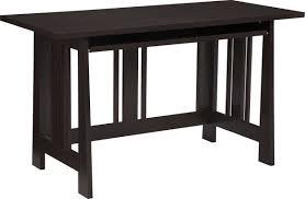 Modern Computer Desks by Modern Computer Desk With Storage Elegant Black Wooden Computer