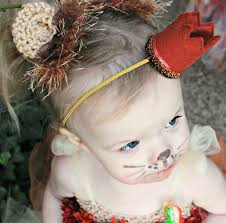 baby girl hair bows baby costume baby lion toddler animal ears lion hair