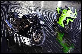 black ninja description green and black kawasaki ninja 250r is