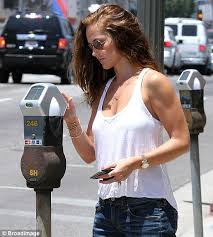Seeking Minka Minka Shows Muscly Arms In A White Vest Top