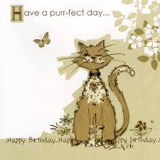 bug art cards for cat lovers at tattypuss have a purrfect day