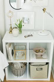 ikea shelf with lip 3 ways to style and use ikea u0027s kallax expedit shelf the everygirl
