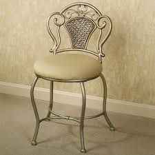 Artistic Chair Design Classic And Artistic Padded Bathroom Vanity Chair Design