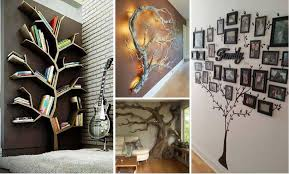 Branch Decor 30 Fantastic Wall Tree Decorating Ideas That Will Inspire You