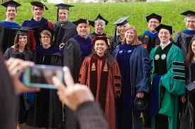 faculty regalia ohio graduate college doctoral commencement
